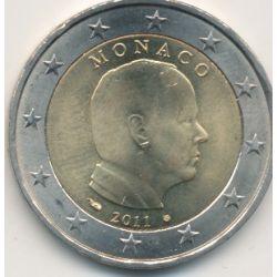 2€ Monaco 2011 - Albert