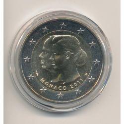 2€ Monaco 2011 - Mariage Prince Albert II