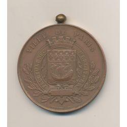 Médaille - Exposition vinicole de Paris - 1887 - bronze - 52mm