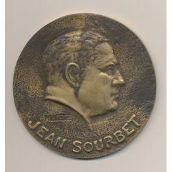 Médaille - Jean Sourbet - Union coopérative des coopératives agricoles de céréales - Paris - 91mm - bronze