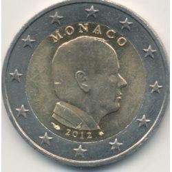 2€ Monaco 2012 - Prince Albert II