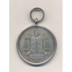 Médaille - Tribunal Civil - 1830 - argent - SUP