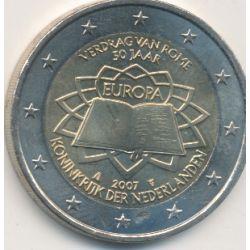 2€ Pays-Bas 2007 - Traité de Rome