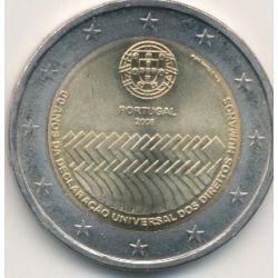 2€ Portugal 2008 - 60 ans déclaration universelle droits de l'homme