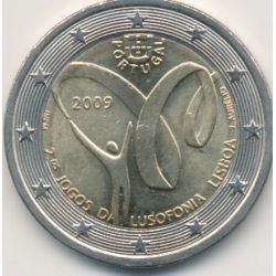 2€ Portugal 2009 - 2e jeux Lusophonie