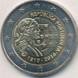 2€ Portugal 2010 - 100e anniversaire république