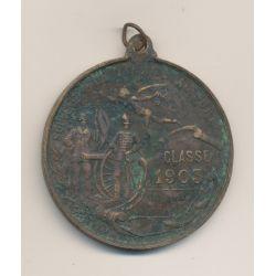 Médaille - Tirage au sort - Classe 1903 - 46mm - TB