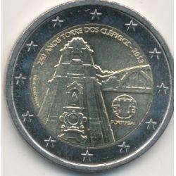 2€ Portugal 2013 - 250e anniversaire Tour des clercs