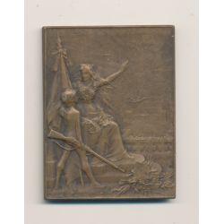 Médaille - Union des sociétés de Tir - France - bronze - Dupré - TTB