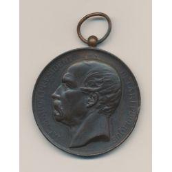 Médaille - Société nationale du tir des communes - Mac-Mahon - bronze - 51mm - TTB