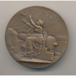 Médaille - Paris 1870-71 - Concours de l'état - bronze - 51mm - C.Degeorge - TTB+