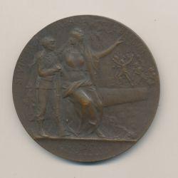 Médaille - Entrainement physique - Préparation militaire - bronze - 50mm - TTB