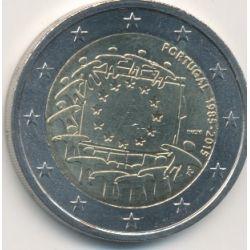 2€ Portugal 2015 - 30 drapeau européen