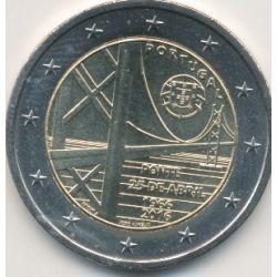 2€ Portugal 2016 - 50e anniversaire pont du 25 avril