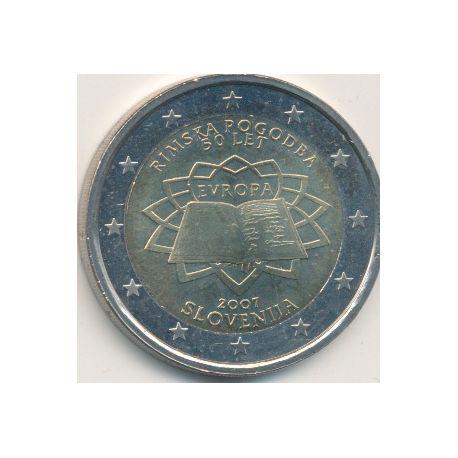 2€ Slovénie 2007 - Traité de Rome