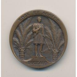 Médaille - Union nationale des Officiers de réserves - 25 et 29 mai 1930 - Congrès d'Alger - bronze - arthus bertrand - 36mm - T