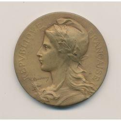 Médaille - Fédération nationale des syndicats des industries de l'alimentation - 1953 - par Rasumny - bronze - 40mm