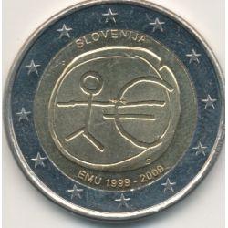 2€ Slovénie 2009 - EMU