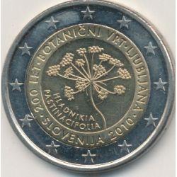 2€ Slovénie 2010 - 200e anniversaire jardin botanique Ljubljana