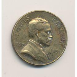 Médaille - Louis Pasteur - 1 Europa 1928 - bronze - 27mm - TTB
