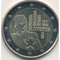 2€ Slovénie 2011 - 100e anniversaire naissance Franc Rozman