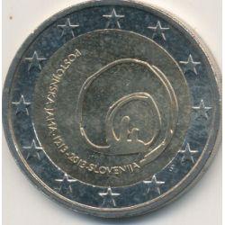 2€ Slovénie 2013 - 800e anniversaire découverte grotte de postojna