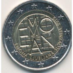 2€ Slovénie 2015 - 200e anniversaire fondation ville Emona
