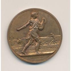 Médaille - Associations agricoles - J.Lagrange - bronze - 41mm - SUP