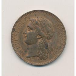 Médaille - Exposition universelle - Paris 1878 - administration des monnaies et médailles - cuivre - 31mm - TTB+