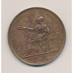 Médaille - Exposition universelle - Vienne 1873 - cuivre - 51mm - TTB+