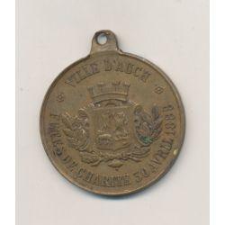 Médaille - Fêtes de charité - Ville d'Auch - 1888 - TTB+ - 28mm