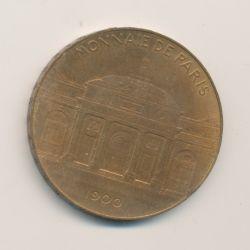 Médaille - Monnaie de Paris - Souvenir Exposition 1900 - Bronze - 38mm - TTB+