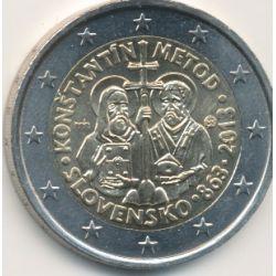 2€ Slovaquie 2013 - 1150e mission byzantine