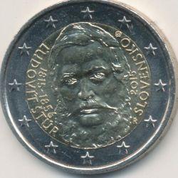 2€ Slovaquie 2015 - bicentenaire naissance Ludovic Stur