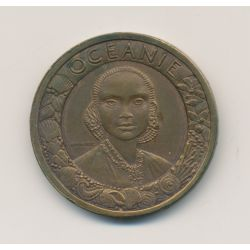 Médaille - Exposition coloniale internationale Paris - 1931 - Océanie