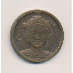 Médaille - Exposition coloniale internationale Paris - 1931 - Asie - bronze - 32mm