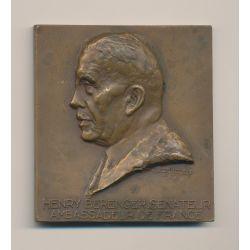 Médaille - Henry Berenger Sénateur - Ambassadeur de France - Le comité et les membres de la société coloniale des artistes Franç