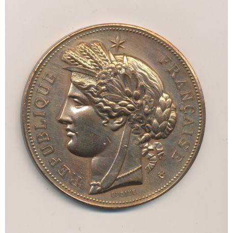 Médaille - Lice Chansonnière - 1888 - bronze - Oudiné - TTB - 51mm