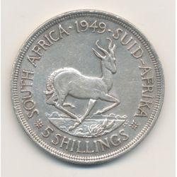 Afrique du sud - 5 Schillings - 1949