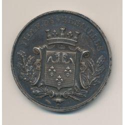 Médaille - Conservatoire musique Versailles - 1er prix de piano - 1885 - 51mm - TTB+