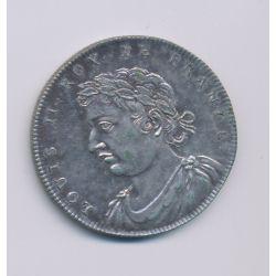 Médaille - Louis II - Refrappe 20e - argent - 33mm - TTB+