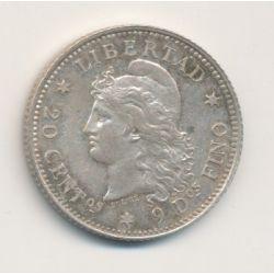 Argentine - 20 Centavos - 1882