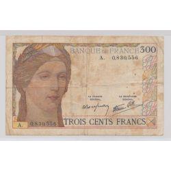 300 Francs cérès - 1938 - Alphabet A - TB - N°0.830.556