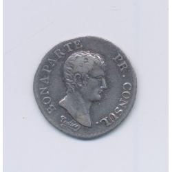 1/4 Franc - AN 12 I Limoges - Bonaparte 1er consul - TB+