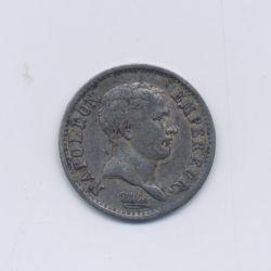 1/4 Franc - 1807 A Paris - Napoléon empereur - Tête nue - TTB/TTB+