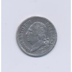 Louis XVIII - 1817 I Limoges - 1/4 Franc - TTB/TTB+