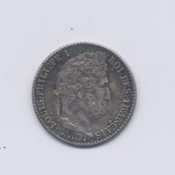 1/4 Franc - 1836 A Paris - Louis philippe I - SUP+
