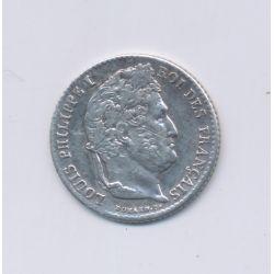 1/4 Franc - 1838 K Bordeaux - Louis philippe I - TB/TTB