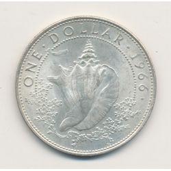 Bahamas - 1 Dollar - 1966