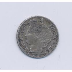 20 centimes Cérès - 1850 A Paris - TB